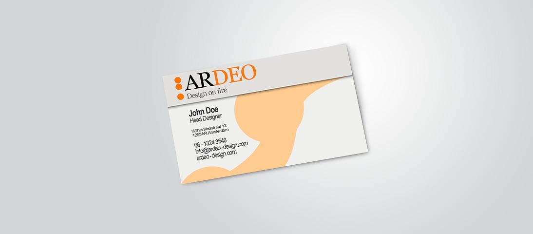 visitekaartje ardeo