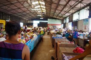Market in Paramaribo